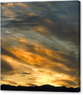 Panamint Sunset Canvas Print