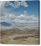 Panamint Valley Canvas Print