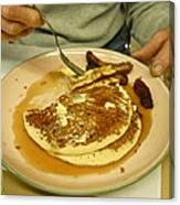 Pancake Breakfast Canvas Print