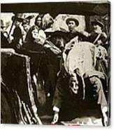 Pancho Villa Ambushed July 20 1923 1923 Dodge Touring Car 1923-2013 Canvas Print