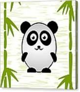 Panda - Animals - Art For Kids Canvas Print