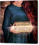 Pandora With The Box Canvas Print