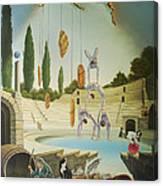 Pane Et Circenses Canvas Print