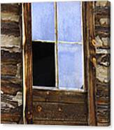 Panes Of Yesteryear Canvas Print