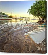 Panglao Port Sunset 4.0 Canvas Print