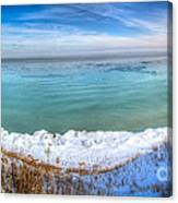 Panning Lake Michigan Canvas Print
