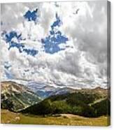 Panorama Atop Independence Pass Canvas Print