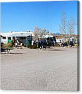 Panorama Cedar Cove Rv Park Street 4 Canvas Print
