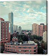 Panorama-dt-toronto Looking East Canvas Print