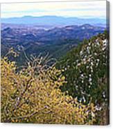 Panorama Emory Pass Vista Nm Canvas Print