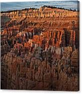 Panorama Of Bryce Canyon Amphitheater Canvas Print