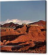 Panorama Of Goblin Valley State Park Utah Canvas Print