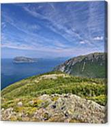 Panorama Of The Outer Bay Of Islands, Newfoundland Canvas Print