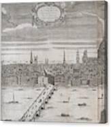 Panorama Of London Canvas Print