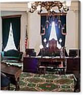 Panorama Of The Vermont State House Montpelier Vermont Canvas Print