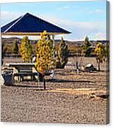 Panorama Outdoor Community Area Canvas Print