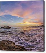 Panorama The Whole Way Round The Cove Canvas Print