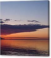Panorama - Toronto Sunrise In June  Canvas Print