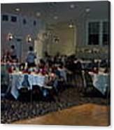 Panorama Wedding Canvas Print