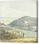 Panoramic After View, From The Red Book Canvas Print