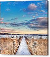 Panoramic Crooked Lake Canvas Print