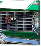 panoramic green Z28 Canvas Print