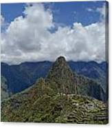 Panoramic Machu Picchu Canvas Print