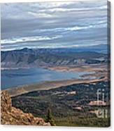 Panoramic Of Henry's Lake Canvas Print