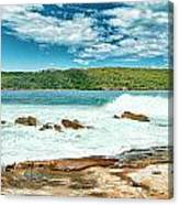 Panoramic Photo Of La Perouse Canvas Print
