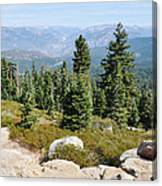 Panoramic Point Canvas Print