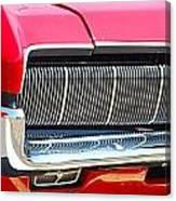 panoramic red Cougar Canvas Print