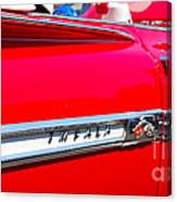 panoramic red Impala Canvas Print