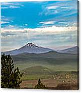 Panoramic View Of The Cascades Canvas Print