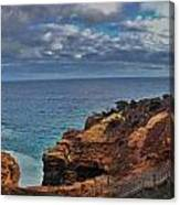 Panoramic View Of The Grotto Canvas Print