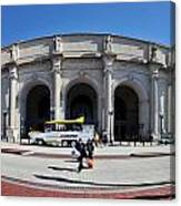 panoramic View of Union station in Washington DC Canvas Print