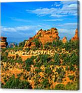 Panoramic View, Sedona, Arizona Canvas Print