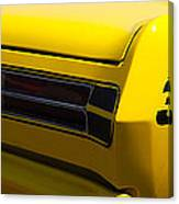 Panoramic Yellow Duster Canvas Print