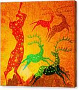 Pans Dance Canvas Print