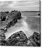 Ballycastle - Pans Rock To Rathlin Island Canvas Print