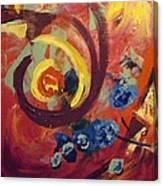Pansymania Canvas Print
