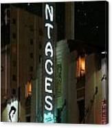 Pantages Neon Canvas Print