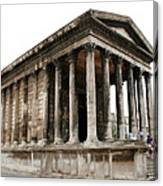 Pantheon Nimes Canvas Print