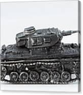 Panzer Miniature Canvas Print