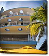 Congress Hotel Of South Beach Canvas Print