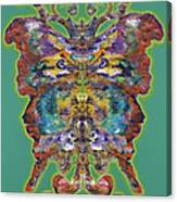 Papalotl Series Vlll Canvas Print