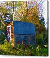 Papa's Old Barn Canvas Print