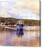 Papeete Harbour Dawn Canvas Print