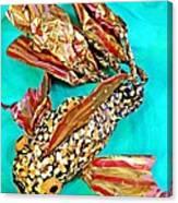 Paper Fish Canvas Print