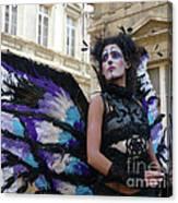 Papillion Femme Canvas Print