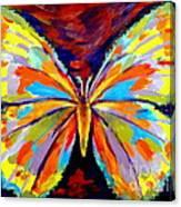 Papillon Colore Canvas Print
